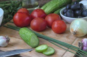 Здравен-блог - краставици, комбинация, домати