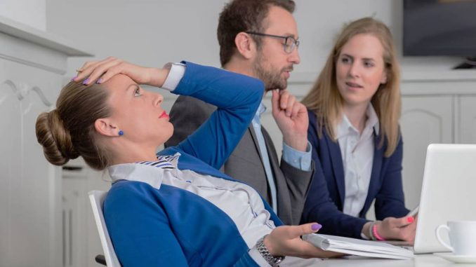 негативни емоции в работата